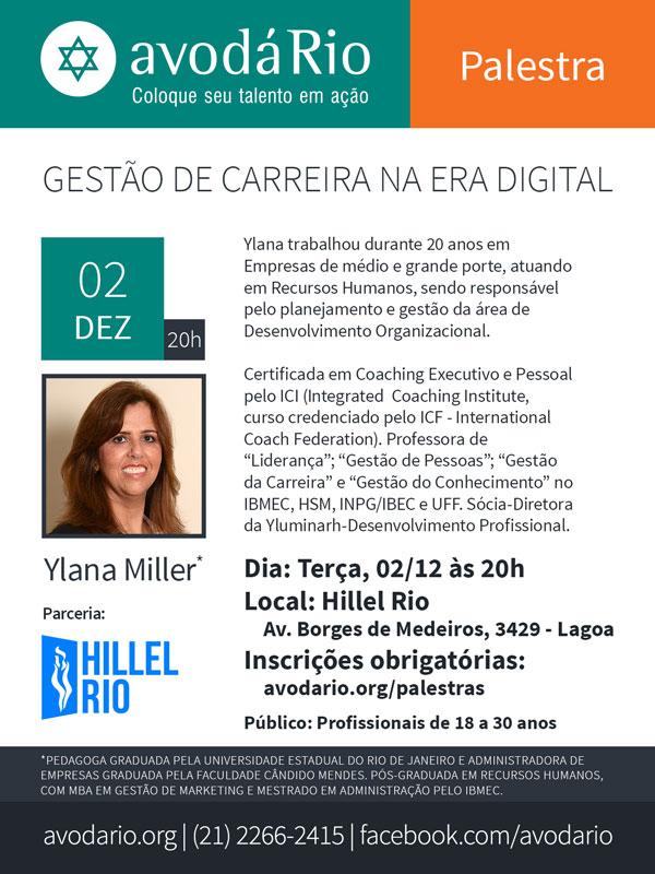 flyer_avoda_Gestao-de-Carreira_II